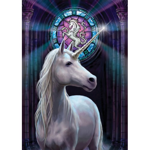 Enlightenment Unicorn Card 6 Pack by Anne Stokes